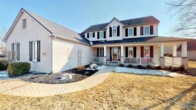 Perrysburg Single Family Home For Sale: 14833 Lake Meadows Drive