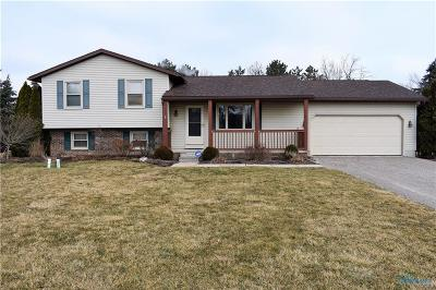 Curtice Single Family Home Contingent: 22001 W Curtice E And W Road