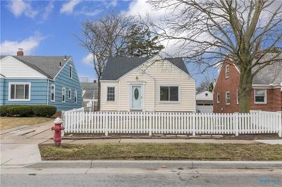 Toledo Single Family Home Contingent: 2805 Letchworth Parkway