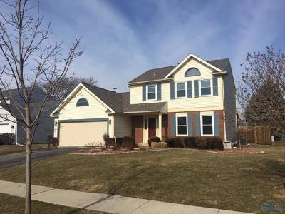 Maumee Single Family Home Contingent: 611 Arlene Drive