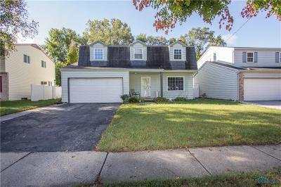 Sylvania OH Single Family Home For Sale: $157,900