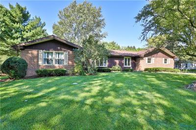 Single Family Home For Sale: 5064 S Eber Road