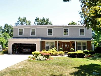 Sylvania Single Family Home For Auction: 7548 Club Road