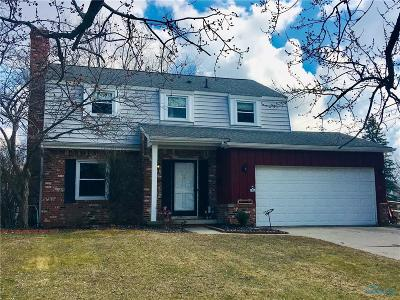 Sylvania OH Single Family Home For Sale: $199,900