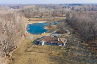 Ottawa Hills, Monclova, Oregon, Rossford, Swanton, Berkey, Metamora, Lyons, Whitehouse, Waterville Single Family Home Contingent: 5244 Waterville Swanton Road