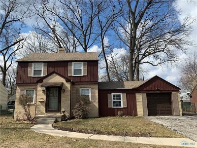 Toledo Single Family Home Contingent: 4411 Woodmont Road