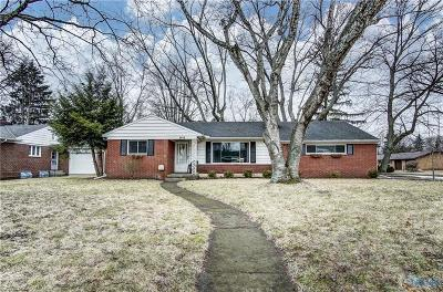 Toledo Single Family Home Contingent: 2919 Strauss Avenue