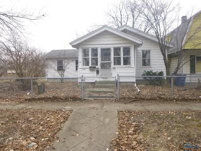 Toledo Single Family Home For Sale: 1840 Homer Avenue