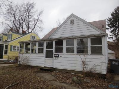 Toledo OH Single Family Home For Sale: $18,000