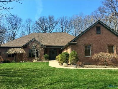 Maumee Single Family Home Contingent: 4726 Rhone Drive