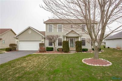 Maumee Single Family Home Contingent: 4308 Stable Path Drive