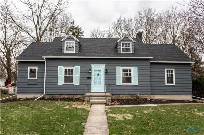 Perrysburg Single Family Home For Sale: 314 E Second Street