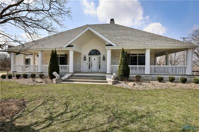 Perrysburg Single Family Home Contingent: 26935 Riverford Drive