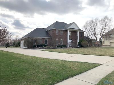Perrysburg Single Family Home For Auction: 1319 Brookwoode Road