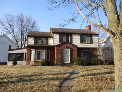 Toledo Single Family Home For Sale: 1425 Schuyler Road