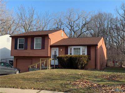 Toledo OH Single Family Home For Sale: $51,900