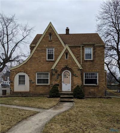 Toledo OH Single Family Home For Auction: $32,500