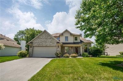 Maumee Single Family Home For Sale: 7649 Stone Hill Court