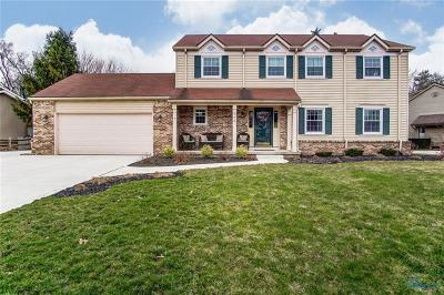 Perrysburg Single Family Home Contingent: 770 Oxborough Drive