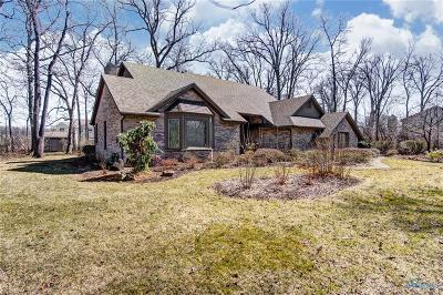 Perrysburg Single Family Home For Sale: 26040 Willowbend Road