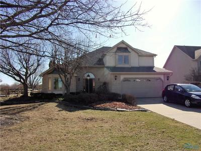 Lucas County Single Family Home Contingent: 1325 Oaktree Court