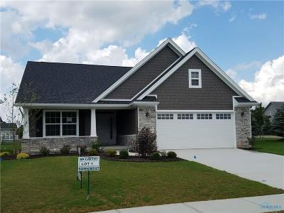 Perrysburg Condo/Townhouse For Sale: 15865 River View Place #Lot 1