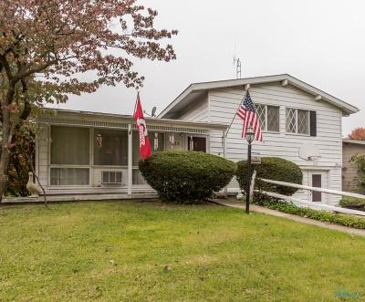 Maumee Single Family Home For Sale: 1225 Elco Avenue