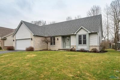 Maumee Single Family Home Contingent: 2218 Linden Court