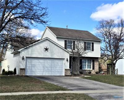 Toledo Single Family Home Contingent: 8246 Fawn Crest