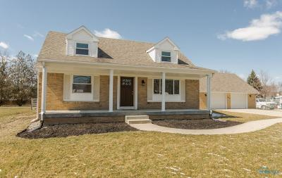 Perrysburg Single Family Home Contingent: 28553 Hufford Road
