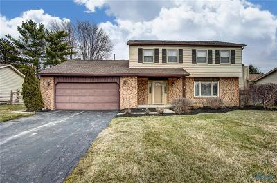 Maumee Single Family Home Contingent: 2331 Garden Creek Drive