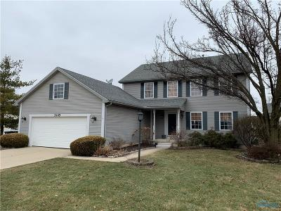 Perrysburg Single Family Home Contingent: 2445 Coe Court