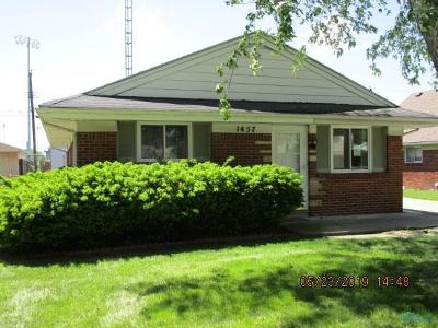 Maumee Single Family Home For Sale: 1457 Wilderness Drive