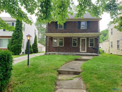 Toledo Single Family Home For Sale: 3808 Drummond Road