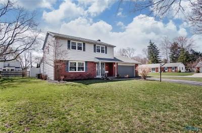 Toledo Single Family Home For Sale: 3819 Linden Green Drive