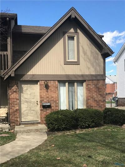 Toledo Condo/Townhouse For Sale: 2256 Rockspring Road #1