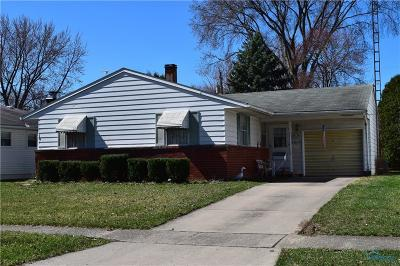 Maumee Single Family Home For Sale: 1217 Anderson Avenue
