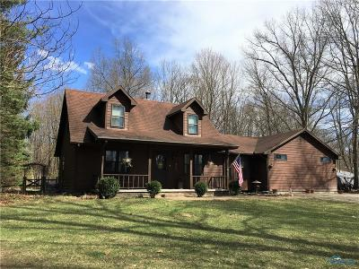 Ottawa Hills, Monclova, Oregon, Rossford, Swanton, Berkey, Metamora, Lyons, Whitehouse, Waterville Single Family Home For Sale: 6010 County Road 2