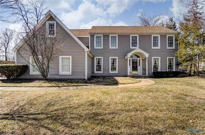 Sylvania Single Family Home Contingent: 5217 River Ridge Circle
