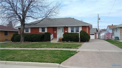 Single Family Home For Sale: 3301 Cromwell Drive