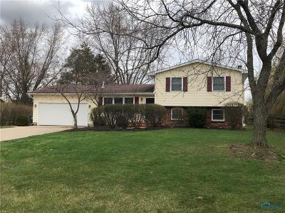 Perrysburg Single Family Home Contingent: 476 Pauly Drive
