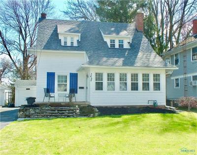 Toledo Single Family Home For Sale: 3425 Island Avenue