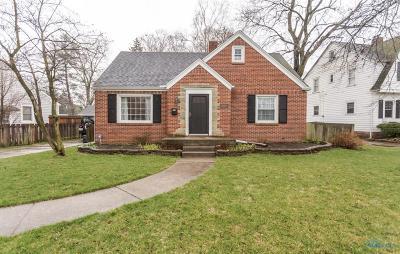 Toledo Single Family Home For Sale: 3303 Oakway Drive