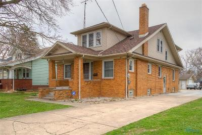 Maumee Single Family Home For Sale: 615 River Road