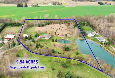 Ottawa Hills, Monclova, Oregon, Rossford, Swanton, Berkey, Metamora, Lyons, Whitehouse, Waterville Single Family Home For Sale: 3720 County Road Ef