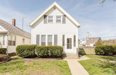 Rossford Single Family Home Contingent: 132 Oak Street