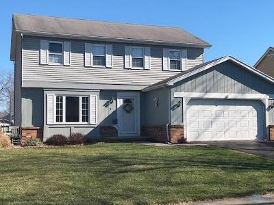 Maumee Single Family Home Contingent: 636 Bennington Drive