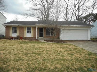Maumee Single Family Home For Sale: 636 Dussel Drive
