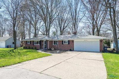 Toledo Single Family Home Contingent: 1552 Claybourne Drive