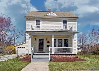Maumee Single Family Home Contingent: 623 W John Street